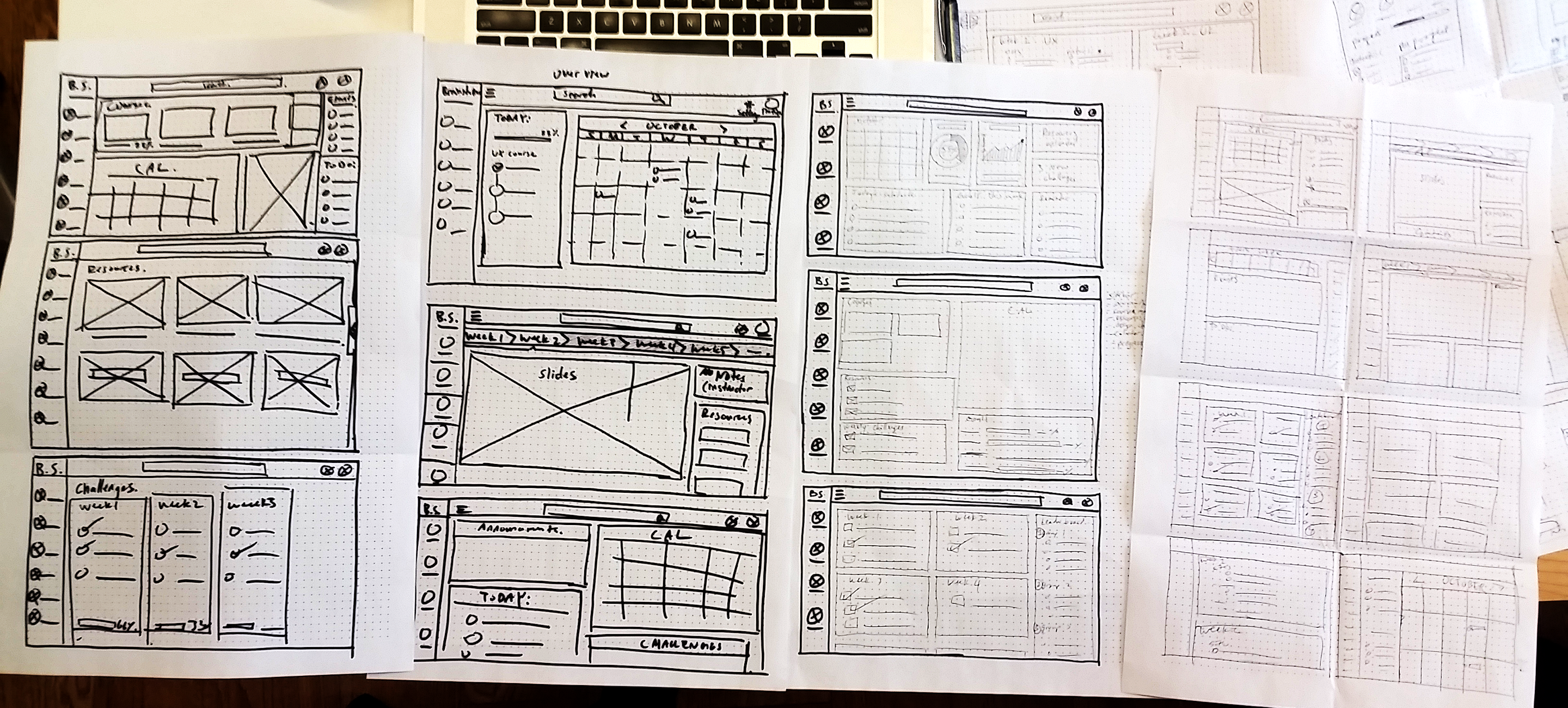 wireframe-sketches
