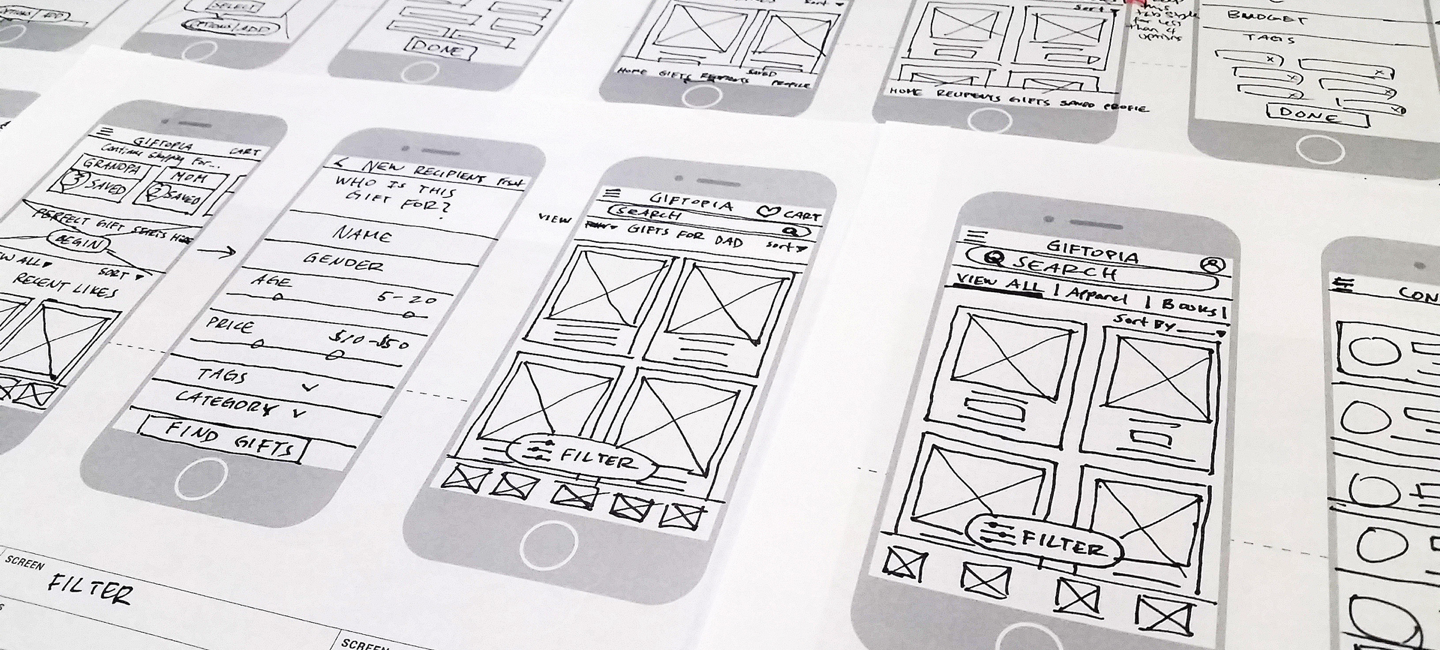 sketches-wireframe